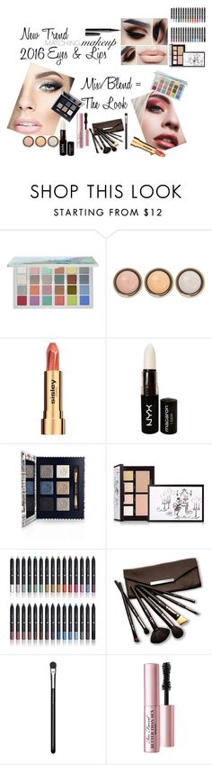 """""""Makeup Trend"""" by tammydevoll ❤ liked on Polyvore featuring uroda, Sephora Collection, By Terry, Sisley, NYX, Tory Burch, Laura Mercier, Shany, Borghese i MAC Cosmetics"""