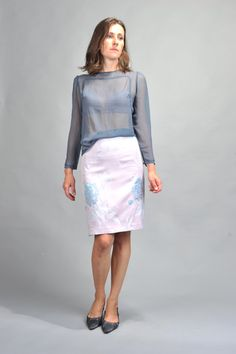 Bilja skirt by NinaBoucheron on Etsy