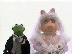 Miss Piggy & Kermit The Frog Miss Piggy Muppets, Kermit And Miss Piggy, Kermit The Frog, Jim Henson, The Muppet Show, Still Love Her, This Little Piggy, Elmo, True Love