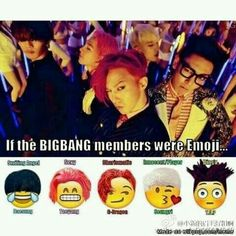 Want to have these emoji #BIGBANG #meme [allkpop]