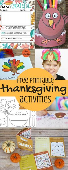 These Free Printable Thanksgiving Activities are just the thing to keep toddlers and big kids entertained on Turkey Day! DIY | Craft | Toddler Crafts | Thanksgiving Crafts | Free Printable | Print at Home | Thanksgiving Activities | Thanksgiving 2017 |