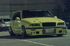 Japanese Volvo 850-I love the cropped headlights.