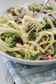 Vegetarian Spring Pasta Dish