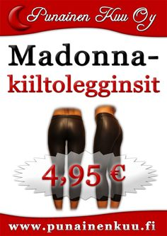 Madonna-legginsit 4,95 €/kpl
