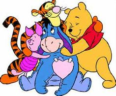 Print Color Drawing Famous characters Walt Disney Winnie the