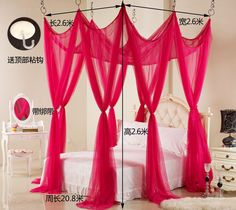 bed mosquito net  Baroque wedding bed nets bed mantle curtains mosquito nets  #KINGHOMEAuthorized