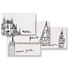 Nothing matches the intimacy of written correspondence. This stationary has us looking for pen pals: