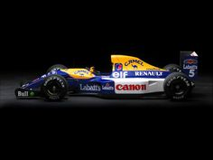 """1992 Williams/Renault Type FW14B... Nigel Mansell's """"Red Five""""..."""