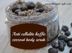 Deze koffie zeezout bodyscrub zorgt voor een heerlijk gladde huid en helpt tegen cellulite. Je hebt er niet veel voor nodig en is simpel om te maken.