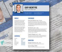 Free Blue Denim Resume Template   Freesumes.com #resume #template #freebies