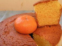 """Torta licuada de mandarina (Facil, rápida y """"sanita""""). (Dedicado a Blanconegro, que tantas veces me ha ayudado a la hora de pensar en que comer). Les dejo la receta de una torta licuada de mandarina ideal para el desayuno o la merienda, que tiene..."""