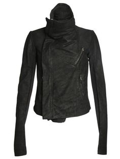 The first and still the best - he's influenced everyone else.  Rick Owens Women's Leather Biker Jacket