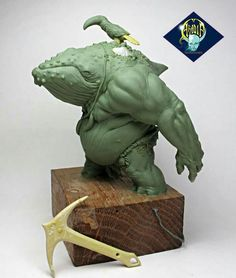 - by Aradia Miniatures 3d Fantasy, Fantasy Artwork, Character Art, Character Design, Modelos 3d, Monster Design, Creature Concept, 3d Prints, Sculpture Clay
