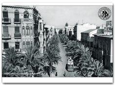 Alicante, Calle San Vicente 1945
