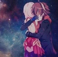 Guilty Crown - Inori & Shu