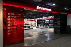 Gramco Beijing has developed a Lenovo 3C store design located in Beijing, China.