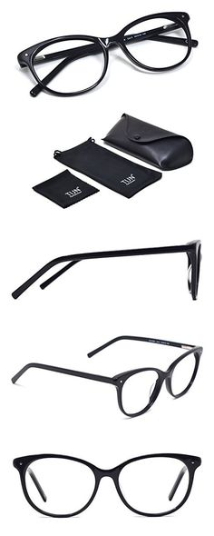 94b413843dbd TIJN Color Contrast Reading Glasses Frame for Women Men 53mm