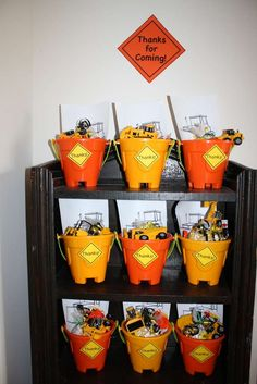 Construction Birthday Party Ideas | Photo 7 of 18 | Catch My Party