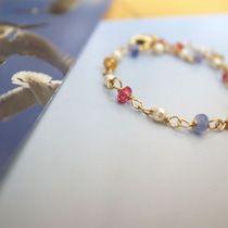 *簡単ワイヤーリングのつくりかた | n* bijou Beaded Bracelets, Jewelry, Ornament, Diy, Fashion, Moda, Jewlery, Decoration, Jewerly
