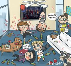 Morning After iHeartRadio (credit to tumblr user cyrilliart)