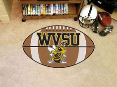 West Virginia State University Football Mat
