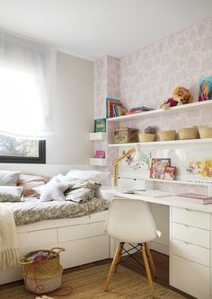 Do you want to surprise your children with a new bedroom? You are in the perfect place because we are going to show you the perfect decoration, furniture and colors for the children's bedroom. Room Decor Bedroom, Girls Bedroom, Design Bedroom, Bedroom Ideas, Bedrooms, My Room, Girl Room, Interior Design, Decoration