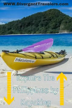 Explore the Philippines by kayaking. Looking for a real adventure? Try sea kayaking from Island to Island exploring what the Philippines really has to offer! It's more fun in the Philippines! http://www.divergenttravelers.com/rtw-recap-4-weeks-philippines/