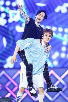 Mark and Xiumin ~Young and Free Nct 127 Mark, Mark Nct, K Pop, Exo Red Velvet, Kpop Couples, Exo Korean, I Love My Son, Exo Xiumin, Xiu Min