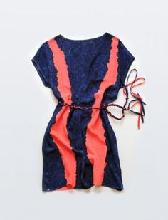 I LOVE THIS DRESS!!! summer must-have! Racer Silk Day Dress By Rachel Rose $208.00