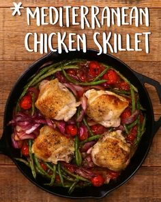 How To Mediterranean Chicken Skillet tastyhealthyrecipes is part of Mediterranean diet recipes - Mediterranean Chicken, Mediterranean Recipes, Clean Eating, Healthy Eating, Cooking Recipes, Healthy Recipes, Cooking Rice, Cooking Salmon, Cooking Games