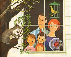 First Adventures in Learning Series - The Thinking Book. Illustrated by Dagmar Wilson (1963)