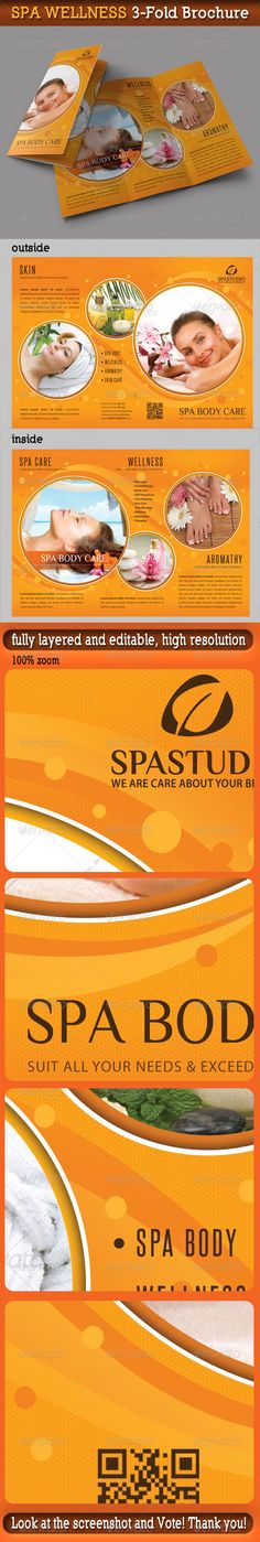 Spa Brochure Collection 2014 Brochures and Spa - spa brochure template