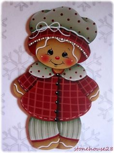 HP Gingerbread Girl Fridge Magnet | eBay