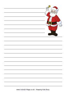 xmas writing paper Christmas angel writing paper handwriting template this paper handwriting template would be a great motivation for your little ones in practicing handwriting thanks to the cute angels on two corners of the fun template.