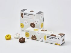 The Award-Winning Packaging Of LINE Café's Snacks Is Much Too Cute To Throw Away - DesignTAXI.com