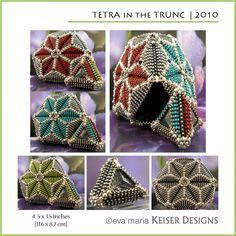 Eva Maria Keiser Designs: Vessel: Tetra in the Trunc   2010