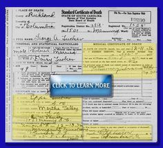 Part 2: What Can You Glean From A Death Certificate? This is the second article in a series on how to research using death certificates. Part 1: How do you research using death certificates? covered names, place of death, marital status, occupation, and birth place. This article covers more strategies that will help you glean more information about your ancestor from the death certificate.