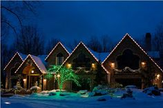 Residential Christmas Decorations