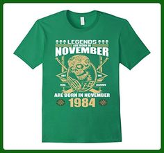 Mens November 1984 33th Birthday 33 Years Old Gift T-Shirt Small Kelly Green - Birthday shirts (*Amazon Partner-Link)