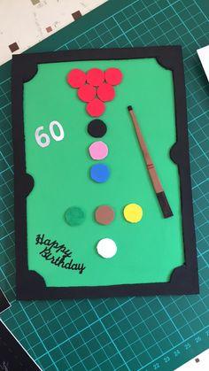 Snooker card