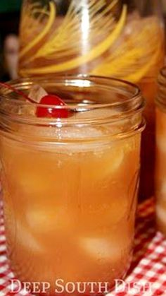 Southern Fruit Iced Tea ~ Southern Iced Tea made with the addition of pineapple, orange & lemon juices.