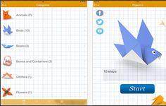 4 Good iPad Apps to Help Kids Create Beautiful Origami