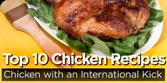 10 Healthy Chicken Recipes from Bodybuilding .com