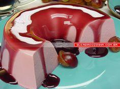 Receita de Pudim de uva | Guia da Cozinha