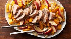 Easy Pork and Squash Sheet-Pan Dinner
