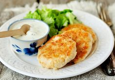 Lemon chicken rissoles
