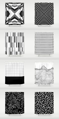 SALE: up to OFF Everything by Bitart on Stylish modern monochrome. SALE: up to Scandinavian Bathroom, Scandinavian Home, Shades Of White, Black And White, Uo Home, Nordic Home, Bohemian Decor, Pillow Shams, Geometric Shapes