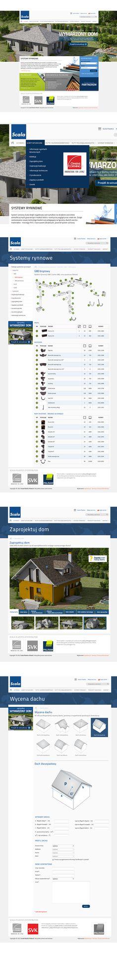 Serwis dla polskiego oddziału Scala Plastics www.scaladachy.pl