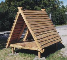 Holz-Zelt   Spielhäuser   Seibel-Spielplatzgeräte   Hinterweidenthal