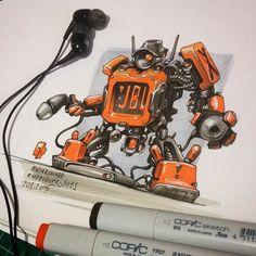 Pt.1 #MarchOfRobots 2015 by Nitrouzzz on Behance
